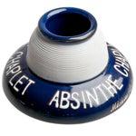 Image of French Absinthe Chaplet Porcelain Match Striker