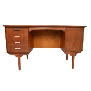 H.P. Hansen Atomic Teak Writing Desk