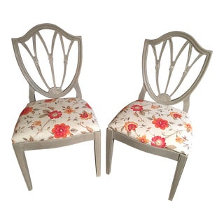 Refinished Vintage Chairs - A Pair