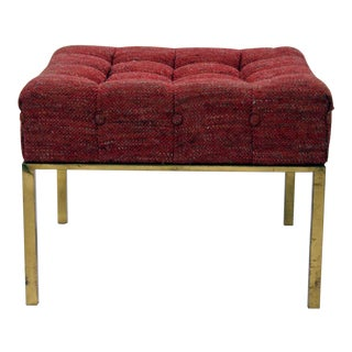 Harvey Probber Square Tufted Ottoman