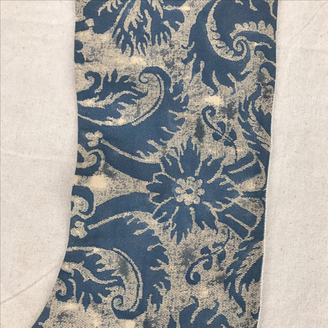 Fortuny Textile Christmas Stocking - Image 3 of 5