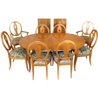 Ethan Allen Country Colors Wheat Dining Set