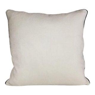 Kim Salmela Woven Ivory Pillow