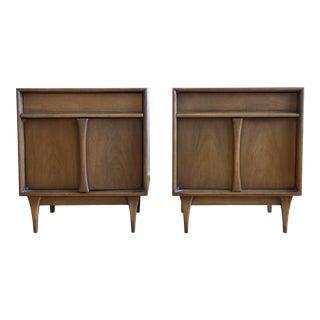 Mid Century Modern Vintage NightStands - A Pair