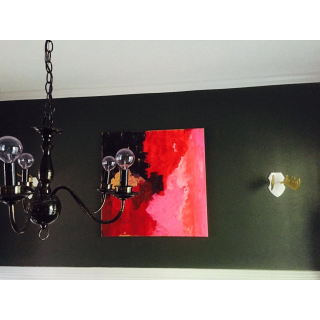 "Image of ""Ice Cream"" Original Acrylic Abstract On Canvas"