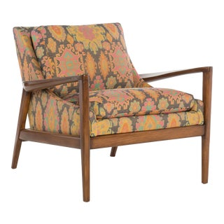 The MT Company Mid-Century Style Ebonwood Chair