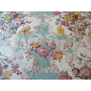 Mulberry Floral Rococo Fabric - 1.5 Yds