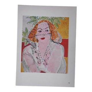 Vintage Ltd. Ed. Modernist Lithograph-Henri Matisse- c.1950-Folio Size