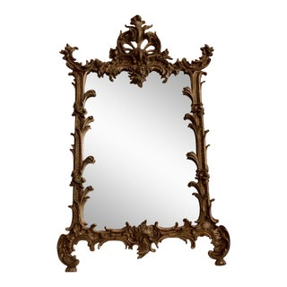 Victorian Cast Iron Vanity Mirror