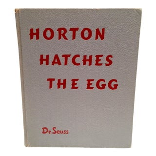 "1st Edition & 1st Printing ""Horton Hatches the Egg"" By Dr. Seuss"