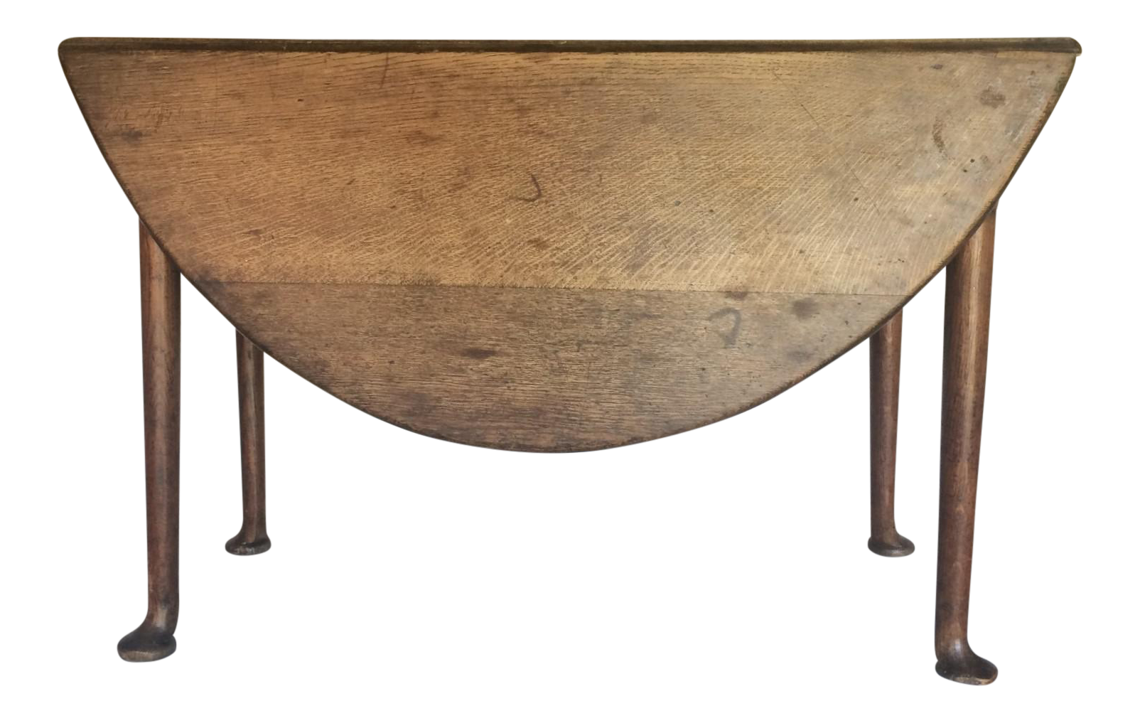 Antique 19th C. English Oak Drop Leaf Gate Leg Table