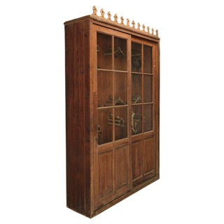French Tack Cabinet or Potential Bookcase