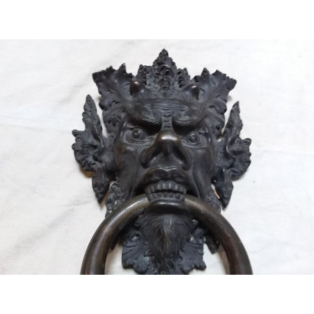 Bronze Mythical Creature Door Knocker - Image 4 of 6