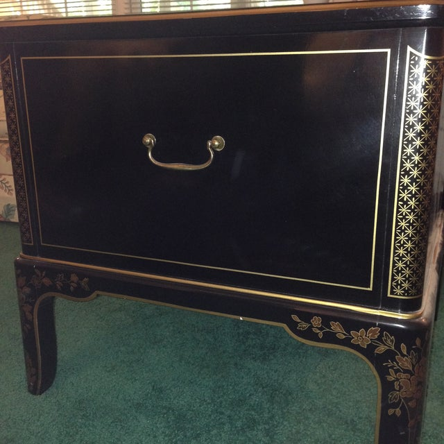 Image of Drexel Chinoiserie End Table