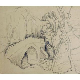 Stone Bridge Study by George Baer