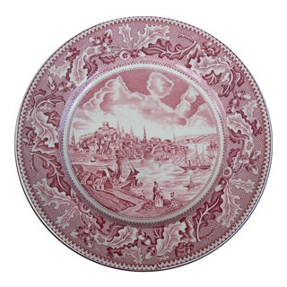 Johnson Bros. Historic Americana Plate