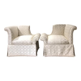 Custom Chic Armchairs by Godwin Century - A Pair