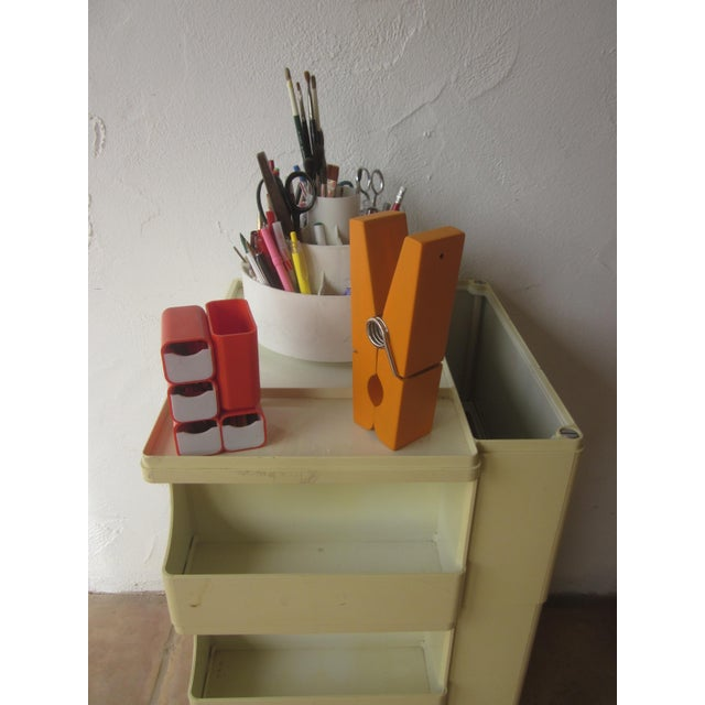 Mid Century Modern Taboret Cart Trolley - Image 5 of 9