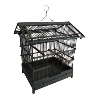 Early French Bird Cage