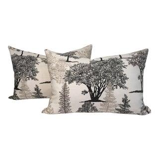 Tree Pillows - a Pair