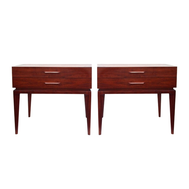 Image of Erwin Lambeth Mid Century End Tables -Pair