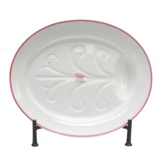 Armorial China Platter