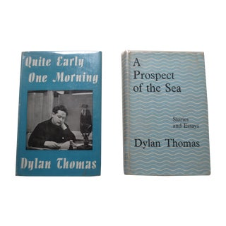 Dylan Thomas 1st Edition From Jane Fonda- A Pair