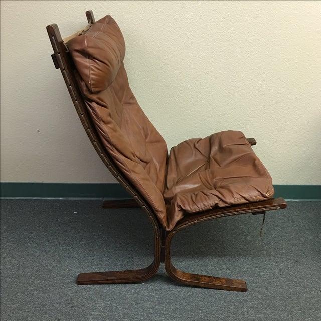 Westnofa Leather Siesta Chair - Image 5 of 11