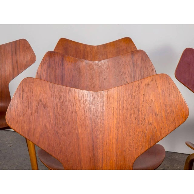 Set of Eight Arne Jacobsen Grand Prix Chairs - Image 8 of 10