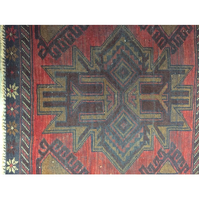 Balluchi Persian Rug - 2′7″ × 2′8″ - Image 4 of 7