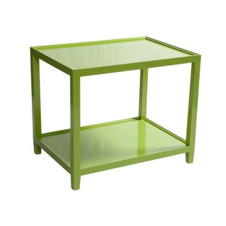 Lime Green Side Table