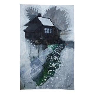 """""""The Grist Mill"""" Original Painting by Steve Klinkel"""