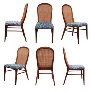 Paul McCobb Solid Walnut Dining Chairs - Set of 6