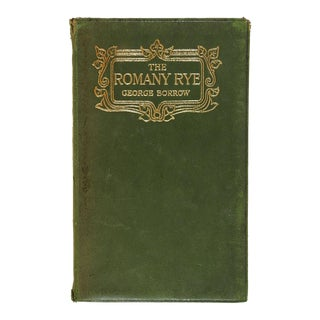 """Romany Rye"" Antique Book by George Borrow"
