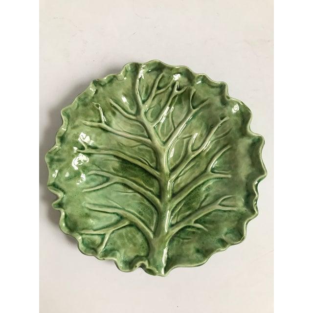 Cabbage Leaf Serving Plate - Image 8 of 8