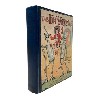 """1920's """"The Tin Woodsman"""" by Frank L. Baum, Early Edition"""