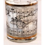 Image of World Map Glasses And Ice Bucket - Set of 8