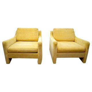 Mid-Century Modern Club Chairs - Pair