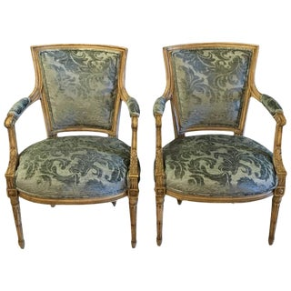 Maison Jansen Louis XVI Style Chairs - A Pair