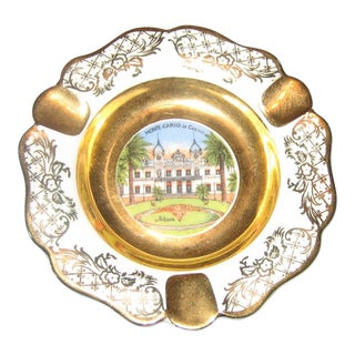 Collectible Vintage Limoges Monte Carlo Ashtray