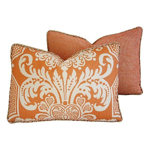 Custom Vervain Trocadero Linen Pillows - Pair - Image 6 of 8