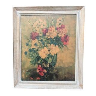 Vintage Ann Cochran Floral Print