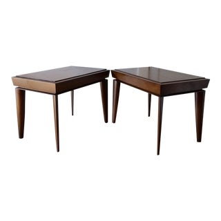 Mid-Century Designer Paul Lazlo End Tables - Pair