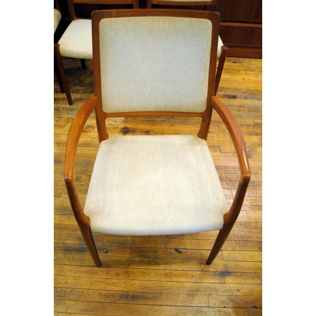 JL Moller Vintage Teak Dining Chairs - Set of 4 - Image 10 of 11
