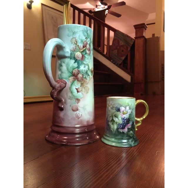 2 Piece Antique Rosenthal Bavaria Porcelain Set - Image 4 of 8