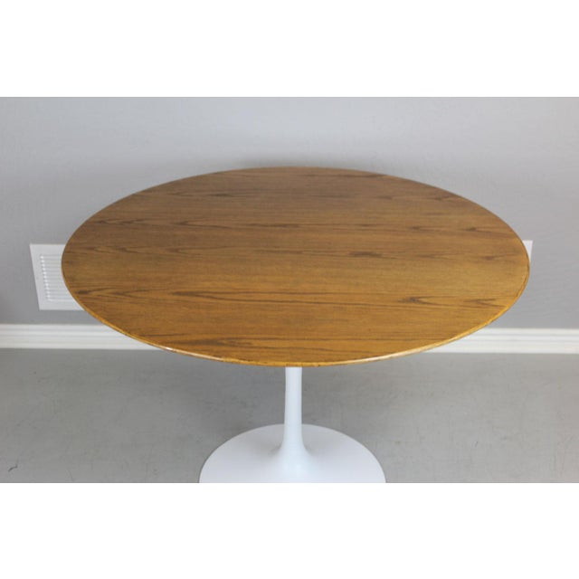 Image of Eero Saarinen for Knoll Dining Table & Chairs -S/5