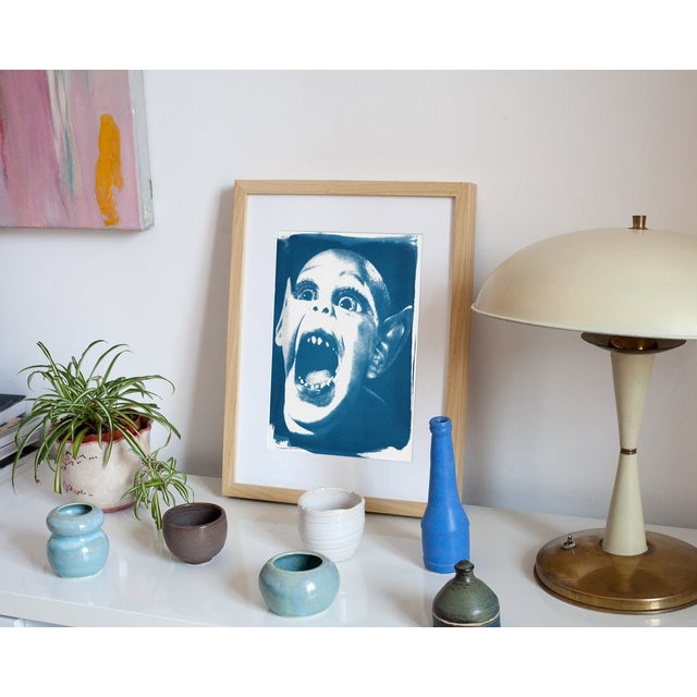 Limited Edition Cyanotype Print- Bat Boy - Image 3 of 4
