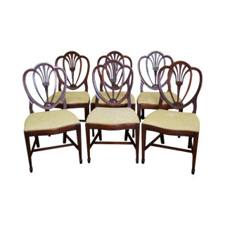 Drexel New Travis Court Shield Back Dining Chairs - Set of 6