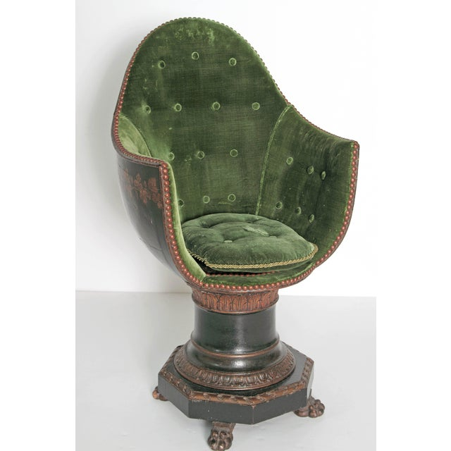 A Nineteenth Century Venetian Child's Gondola Chair - Image 5 of 11