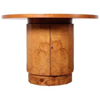 Burl Bar Cabinet / Table by Edward Wormley for Dunbar